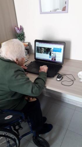 La nonnina tecnologica
